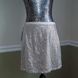 Sequin mini skirt. New with tags